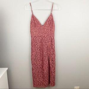 Lovers + Friends • NWOT Lace Midi Dress